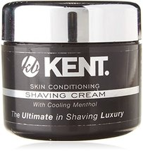 Kent Shaving Cream SCT2 Superior Men Smooth Cooling Menthol Shave Cream, No More image 4