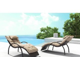 Set/ 2 Chaise Lounge Chair Outdoor Patio Porch Pool Garden Decor - $1,188.00
