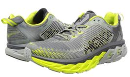 Hoka One One Arahi Size 11.5 M (D) 46 Men's Running Shoes Cool Grey Acid 1016258