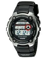 Casio - WV200A-1AV - Men's Waveceptor Atomic Watch - Black Band - $55.39