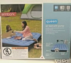 Embark Queen Air Bed Mattress w/ Electric Pump 8.5in-height Camping Inflatable image 6