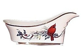 Lenox Winter Greetings Wine Caddy Sleigh NEW IN THE BOX  - $138.59