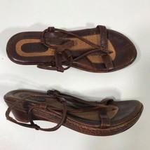 Born Chaussures Sandales Femmes Taille 38 Marron SR2 - $22.86