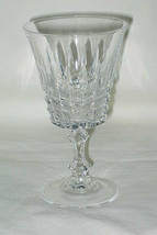 Crystal d'Arques Tuilleries Villandry Pattern Wine Glass - $9.85