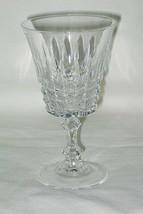 Crystal d'Arques Tuilleries Villandry Pattern Wine Glass - $9.85