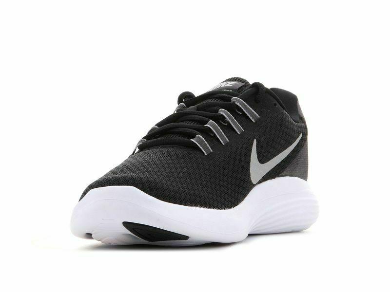 Nike Lunar Converge Sneakers Black White Running Lightweight Trainers Unisex Run