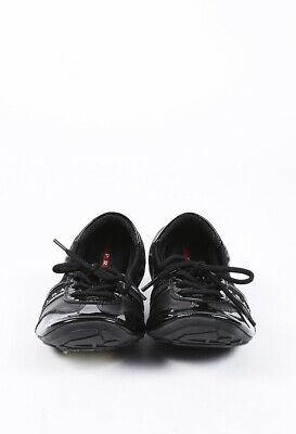 Prada Sport Patent Leather Sneakers SZ 36