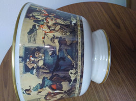 "Norman Rockwell ""Yankee Doodle"" Bowl by Gorham Fine China 1976 Limited Edition # image 5"