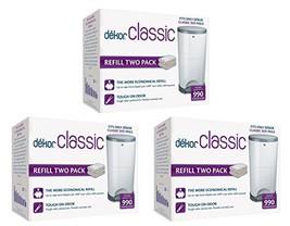 Diaper Dekor Classic Diaper Pail Liner Refills, 3 Pack - $51.32
