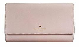 Kate Spade New York Mikas Pond Phoenix Trifold Leather Wallet (Plum Dawn) - $138.59