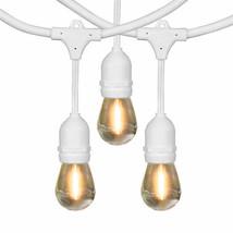 Feit 48' LED Filament String Light Set in White (Indoor or Outdoor) - €39,07 EUR