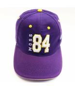 MINNESOTA VIKINGS, 84 MOSS NFL BASEBALL CAP ADJUSTABLE  CAP, PURPLE - £7.95 GBP