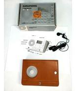 Grundig World Receiver G-2000A FM Shortwave Radio Porsche Manual Case He... - $37.88