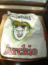 Swing With Archie, drawstring bag, 1971 advertising Fiarmont potatoe chips, old - $89.78