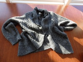 Gray Sweater Cardigan By Sonoma Sz Xl - $7.69