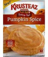 Krusteaz Bakery Style Pumpkin Spice Cookie Mix 16.5 oz W Spice Glaze (1)  - $11.98