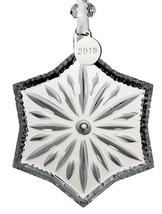 "Waterford Crystal Snowcrystal Ornament 3.7"" - $54.45"