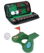 Kovot Golf Gift Set - Office Golf Putting Travel Set + Golf Door Stopper - $32.75 CAD