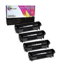4 Pack Q2612A Toner Cartridges for HP LaserJet 1022n 1022nw 1319f M1005 - $26.99