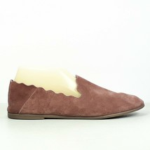 Lucky Brand Womens Mauve Scalloped Suede Leather Ballet Flats Size 9M - $24.99