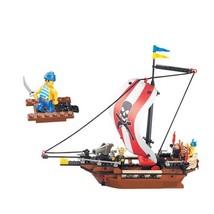 1 Set PIRATES SHIP Bricks Building Blocks Toys for Kids - $22.95