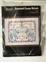 "Charmin Counted Cross Stitch Kit Carousel Sampler 14"" x 11"" 50-407 Craft... - $16.82"