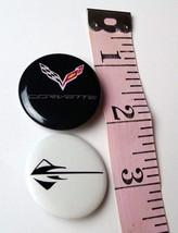 Chevrolet Corvette Flags and Stingray Emblem Lot of 2 Hat Pins - $9.85