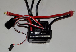 Team Redcat TR-MT8E 1/8 Scale Brushless Speed Control Or Esc 3-4S Lipo 100 Amps - $89.95