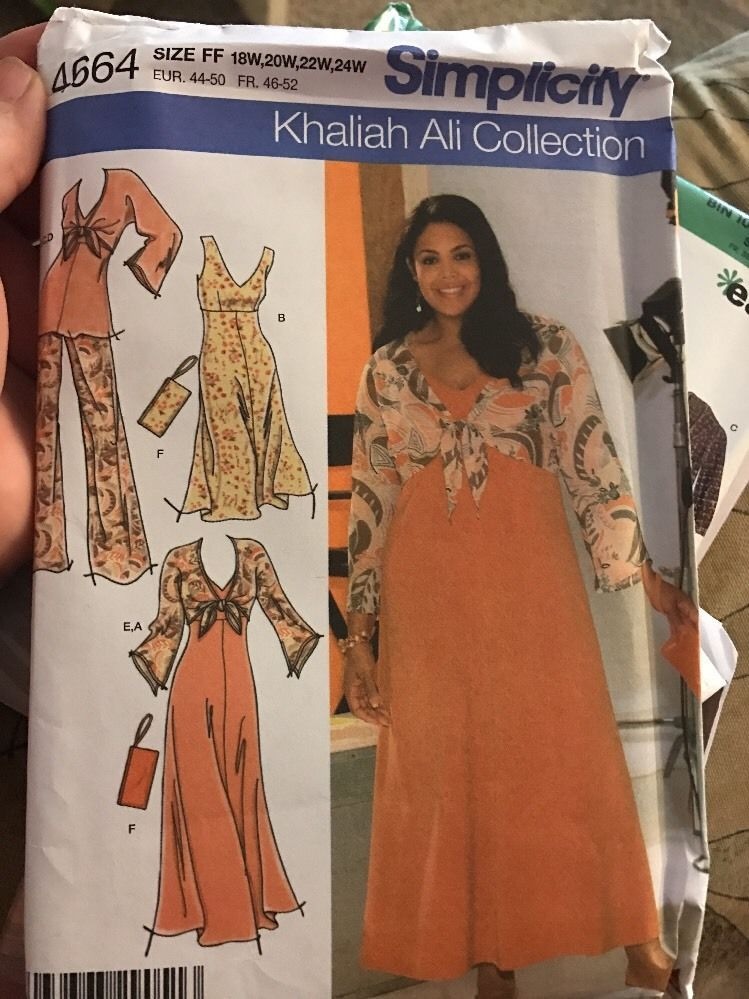 Simplicity 4664 Sewing Pattern 1 Listing