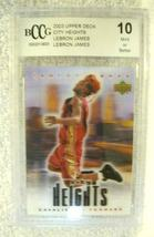 Lebron James RC 2004 Fleer USA Rookie Card GEM BGS 9.5! Cavaliers RC image 8