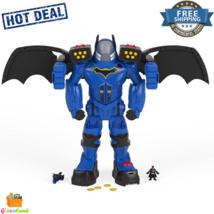 DC Super Friends Batbot Xtreme 2ft Tall  Batman Figure & Batcycle Colorf... - $176.58
