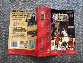 NBA Action '94 **ORIGINAL CASE/BOX ART ONLY** Sega Genesis - $4.27