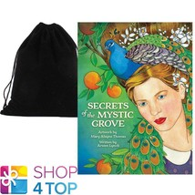 SECRETS OF THE MYSTIC GROVE CARDS DECK ESOTERIC US GAMES SYSTEMS WITH VE... - $28.50