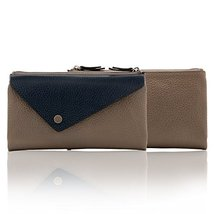 Otto Angelino Genuine Leather Envelope Wallet with Phone Compatible Slots - RFID image 6