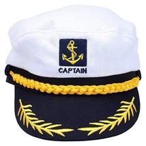 Adult Captains Hat Yacht Cap Nautical Sailor Theme - €7,04 EUR