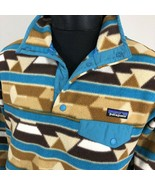 Patagonia Jacket Aztec Fleece Snap T Synch Ski Sweatshirt Tribal Women's... - $89.99