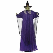 WALKING WITCH. SOUND ACTIVATED MOTION, SPOOKY, HALLOWEEN PARTY PROP #US - $67.50
