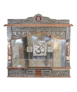 Home Puja Mandir Temple-Altar-Mandap Religious Pooja Decor with Bell & S... - $699.99