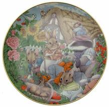 Danbury Mint Mouse Plate - Tales from The Undergrowth - Bumper Crop - by... - $36.95