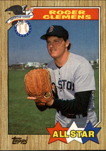 1987 Topps Baseball Base Singles #554-667 (Pick Your Cards) #614 Roger Clemens A - $1.95
