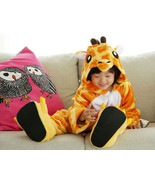 Kids Cute Cartoon Sleepwear Pajamas Cosplay Costume Animal One-piece Fan... - $22.79+