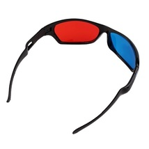 100 Pack - New Anaglyph Red + Blue Cyan 3D Glasses Movie Game DVD Video   - €111,52 EUR