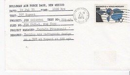 TEST; 707 IMPACT HOLLOMAN AIR FORCE BASE, N. MEX. JULY 14, 1975 - $1.98