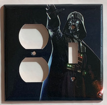 Star Wars Darth Vader Light Switch Power Outlet Wall Cover Plate Home Decor image 4