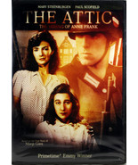The Attic: The Hiding Of Anne Frank NEW DVD Mary Steenburgen Paul Scofield - $10.14