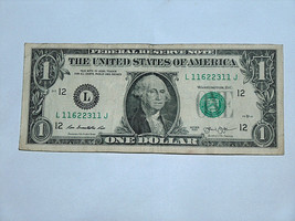 2013 $1 Dollar Bill US Bank Note 1 Bookends 2 Pair 11622311 Fancy Money ... - $14.83