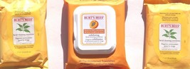 Burt's Bees Facial Cleansing and Exfoliating Towelettes BUNDLE - $9.47