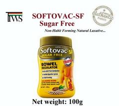 100g Softovac Bowel Regular Sugar Free Natural Laxative Constipation Dig... - $8.00+