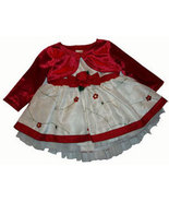 Newborn to 3-6 Months Baby Girls 3 Piece Jacket, Dress and Panties Set - $14.00