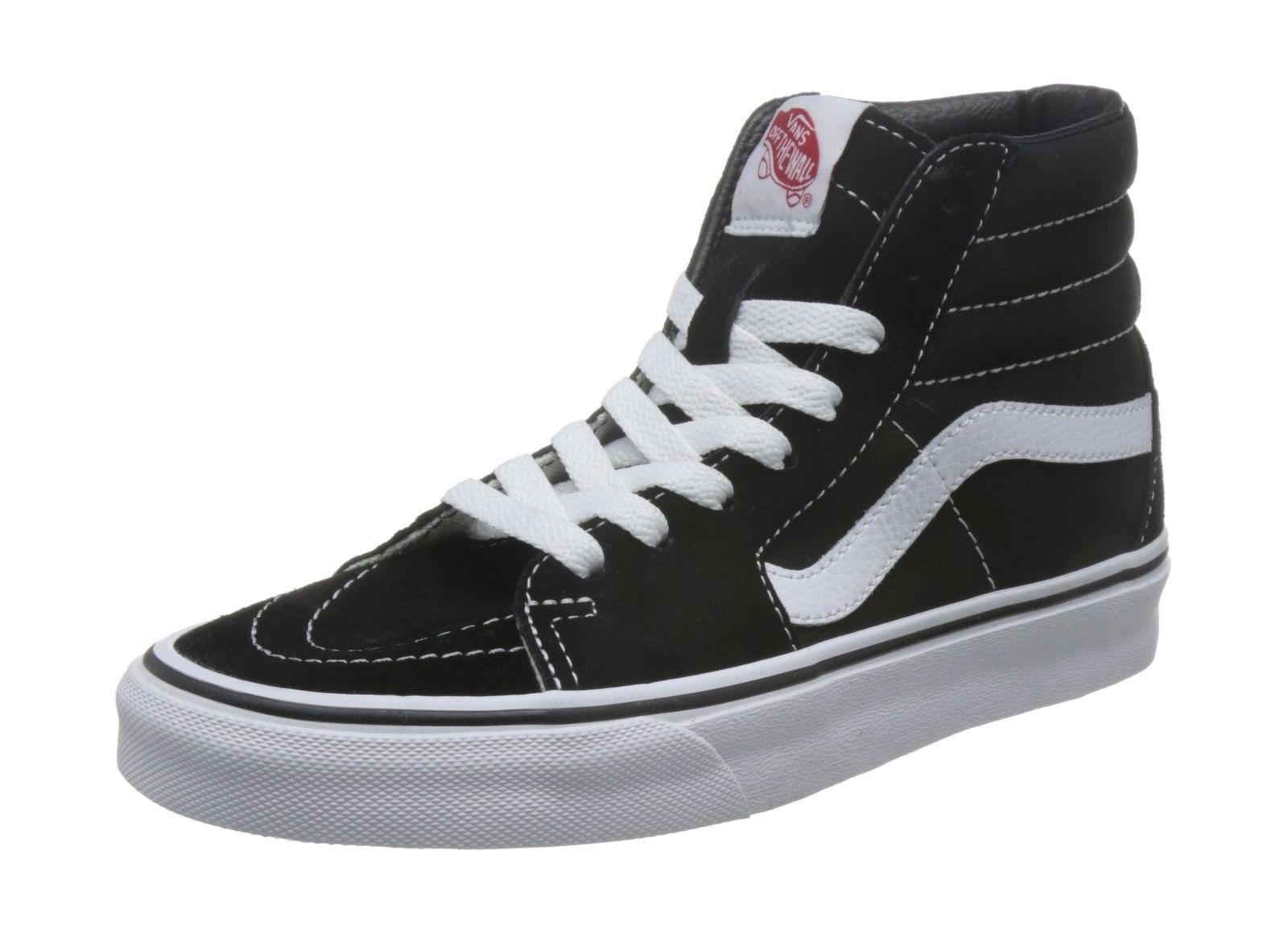 Vans Sk8hi Classic Suede/Canvas Unisex Adulti HiTop Sneaker UK 2.5